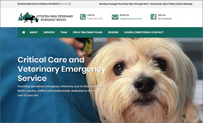 littleton area veterinary emergency service